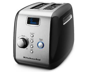 New KitchenAid 2 Slice Toaster Electric - Black/Free ship
