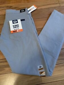 Dockers Ultimate Jean Cut Men Gray Pants Slim Fit Size 30x32 Smart 360 Flex New