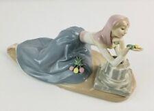 1984 Franklin Mint Flower Maidens Dolores The Dahlia Maiden Porcelain Statue