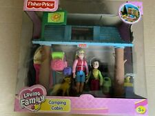 Fisher Price Camping Cabin Playset - Brand new and unopened