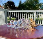 Swarovski Crystal 23 Grapes Rhodium Gold Stem Leaves 7509 150 070 Rare, Vintage