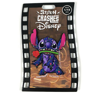 Stitch CRASHES Disney Beauty And The Beast LIMITED RELEASE SERIES 1/12 PIN 2021