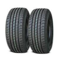 2 Lexani LXHT-206 LT235/85R16 120/116Q All Season M+S Highway SUV/Truck LT Tire