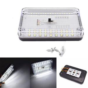 Universal 36 LED Car Ceiling Dome Lamp Reading Trunk Interior Light White 12V
