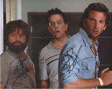 "BRADLEY COOPER Galifianakis ED HELMS Signed ""HANGOVER"" Cast Photo Autograph AUTO"