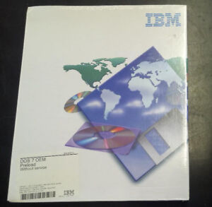 "NEW! PC DOS 7 OEM on 3.5"" Floppy, in Original Box with Manuals"