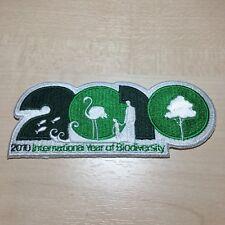 2010 Biodiversity Logo Patch Naturschutz Badge Aufbügler Aufnäher Africa Unity