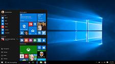 Windows 10  Professional  Home   32 64 bit install/update DVD W/HD 2 disk