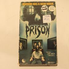 Prison VHS Tape 1987 Lane Smith Horrow OOP New World Video A88008