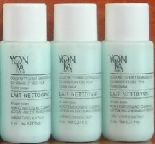Yonka Lait Nettoyant Cleanser Milk Travel Size 3 x 0.27 oz, Total 0.81 oz 24 ml