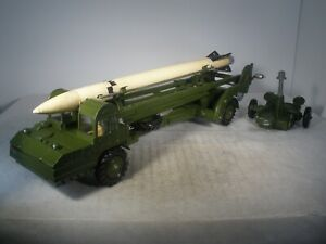 Dinky Toys Military Army CORPORAL MISSILE LAUNCHER 666 OUTSTANDING