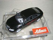 SCHUCO AUDI A 6   3.2  schwarz   ältere Schuco Serie 1:43  27273