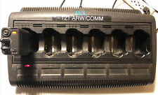 New listing Motorola - Impres - Wpln4121Br - 6 Bank Battery Charger. Runs Selling As Parts