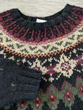 vintage WOOLRICH icelandic sweater XL knit