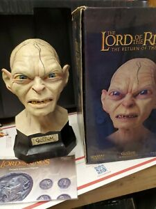 Lord Of The Rings Sideshow Weta Gollum 3/4 Scale Polystone Bust 651/1500
