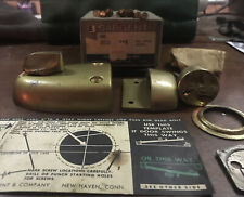 Vintage Sergeant Cylinder And Deadbolt Kit 'New In Box