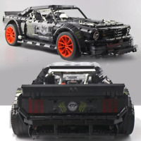 Custom Technic Mustang Hoonicon race car 42056 42083 Building Blocks Bricks MOC