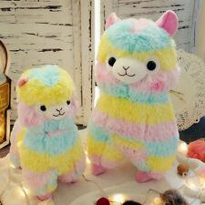 Kawaii Rainbow Alpacasso Alpaca Lama Arpakasso Stuffed Plush Doll Toy Kid Gift