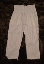 LULULEMON Athletica Post Power Tencel Loose Om Pants White leggings size 2