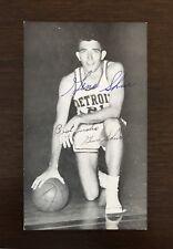 1950s-60's J.D. McCarthy Postcard Gene Shue Detroit Pistons Signed AUTO EX-MT+