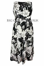 Evans Plus Size Sleeveless Floral Dresses for Women