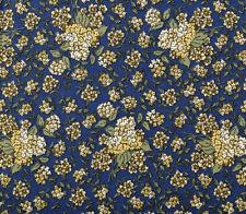 River Song Cotton Fabric Garden Hydrangea Thimbleberries Blue   Lot 2  Bfab