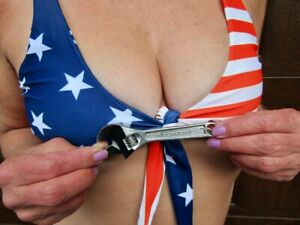 "Super Nice Vintage CRAFTSMAN 4"" Adjustable Crescent Wrench Forged In USA 9 44601"