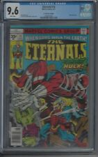 Eternals 14 - $.35 cent variant CGC 9.6 -  (White Pages) RARE 1 of 2