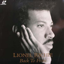 LIONEL RICHIE - Back To Front Laser Disc