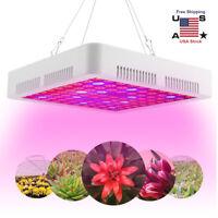 3000W LED Grow Light Full Spectrum Veg Indoor Garden Hydroponic Plant Lamp Panel