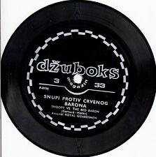 ROYAL GUARDSMEN-SNOOPY vS. THE RED BARON-ORIGINAL YUGOSLAV FLEXI SINGLE 1967