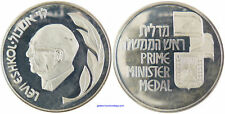 ISRAEL   LEVI ESHKOL   PREMIER MINISTRE   ARGENT   FDC