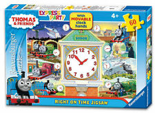 Thomas & Friends 60 Piece Ravensburger Clock Jigsaw Puzzle