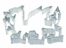 Extra Large Welsh Dragon Shaped Cookie Cutter 15cm