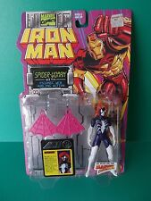 """Iron Man by Toy Biz Marvel  5""""IN """"SPIDER WOMAN""""  with Psionic Web hurling act"""