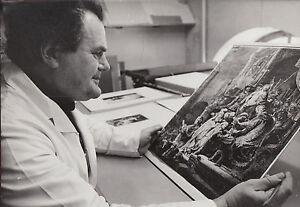 1981 Original Photo Helmut Eckhardt Restoration Rembrandt Christus Art Weimar