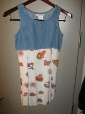 Jonathan Martin Kids Girls Denim Rayon Sun Dress Sz 16