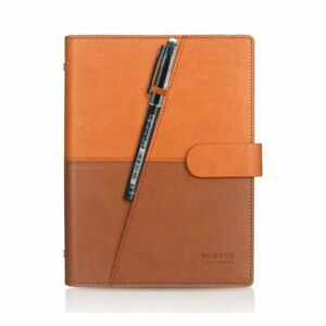 Smart Erasable Notebook Paper Leather Reusable Removable Eco-Friendly Notepad