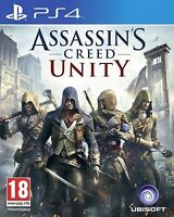 Assassin's Creed Unity - PS4 MINT- UK STOCK 1st Class Delivery