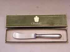Couteau à Beurre Christofle Modèle Malmaison Argent Plaqué Silver Silber