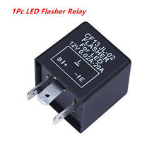 3 Pin Electronic Car LED Flasher Relay CF13 JL-02 Fix Turn Signal Hyper Fashing