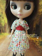 Doll Dress ~ Blythe Adorable Chiffon Doll Dress 1PCS NEW