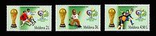 "Moldova 2006 Football Soccer ""Germany 2006"" 3 MNH stamps"