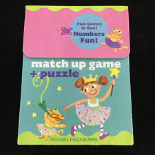 Peaceable Kingdom Match Up Game Floor Puzzle Numbers Memory Princess Complete