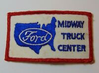 Old Vintage 1970s Ford Trucks Midway Truck Center Kansas City Missouri Patch MO