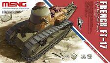 Meng Model TS-008 1/35 French FT-17 Light Tank (Cast Turret)