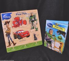 DISNEY Wooden Stand-Up PIXAR PLAY PALS Puzzle STORIES Games BOOK Interactive