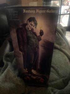 *NEW* Fantasy Figure Gallery  The Joker Statue by Luis Royo Resin Harley Quinn