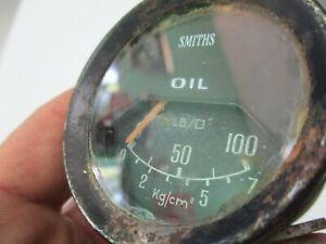 Lotus, Jensen Healey oil pressure gauge Smiths PL2312/04