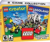 Lego Creator And Lego Land - PC/Mac Game - Brand New